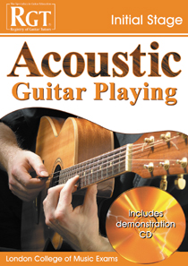 Acoustic Guitar Playing Initial Stage
