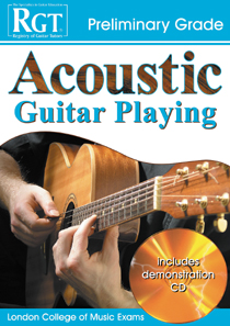 Acoustic Guitar Playing Preliminary Grade