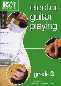 Electric Guitar Playing Grade 3
