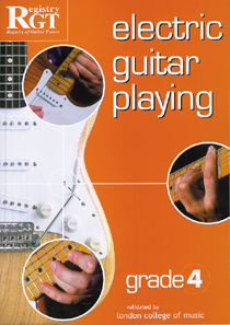 Electric Guitar Playing Grade 4