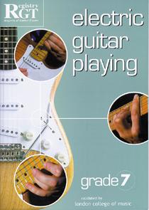 Electric Guitar Playing Grade 7
