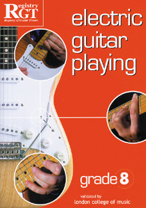 Electric Guitar Playing Grade 8