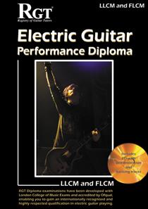 RGT LLCM-FLCM Electric Guitar Performance Diploma Handbook